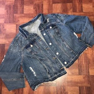 Jackets & Blazers - Plus Size Jean Jacket